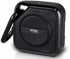 NEW TDK Trek Micro Water Resistant Portable Bluetooth Speaker - Black