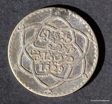 MAROC MOROCCO 1/4 RIAL 2,5 Dirhams  ARGENT SILVER 1329  1911  mo09