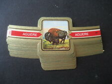 CIGAR BANDS AGUERE. ANIMALS WILD. COLLECTION COMPLETE 24 CIGAR BANDS
