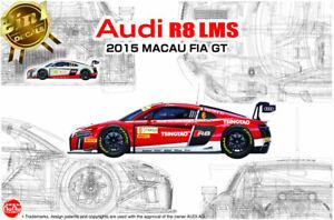 PN24024NUNU-BEEMAX: Audi R8 LMS Macau FIA GT 2015 in 1:24