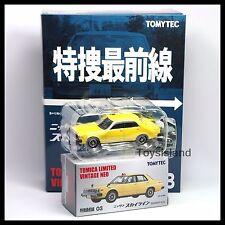 Tomica Limited Vintage NEO 03 NISSAN SKYLINE 2000GT-E.S Police Car 1/64 TOMYTEC