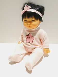 D'NENES ONIL VINYL ASIAN BABY GIRL DOLL FAO SCHWARZ SPAIN 2010 Baby Avery