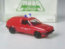 Klasse: Herpa Maag VW Golf 2 US Army Fire Department Feuerwehr in OVP