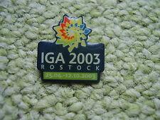 Pin Rostock Internationale Gartenschau IGA 2003 Mecklenburg-Vorpommern A Germany