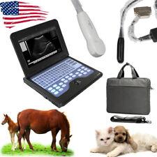 VET Laptop Machine Veterinary Ultrasound Scanner 2 Probes,MICRO Convex+Rectal,CE