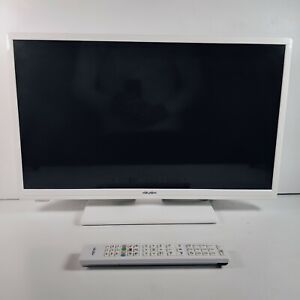 "Bush 24"" LED DVD Combo Smart White TV With Stand + Remote HD 720P"