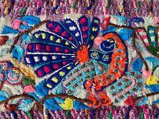 Vintage Guatemalan Men's Hand Embroidered Bird Pants - Santiago de Atitlan 7002