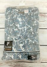 New Old Stock Vintage TOOTAL Regency Paisley Pyjama PJ Set XL Brushed Cotton