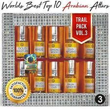 Parag Fragrances Top 10 Attars Trail Pack of Gold Kasturi, Khus, Sandalwood, etc