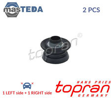 2x TOPRAN REAR LOWER RUBBER BUFFER BUMP STOP PAIR 200 776 P NEW OE REPLACEMENT