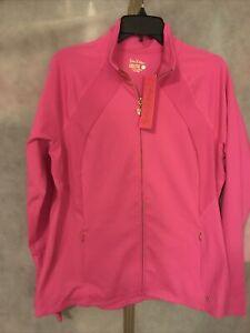 NWT Lilly Pulitzer Tennison Jacket Raz Berry XL