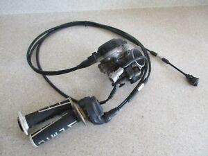 2012 SUZUKI RMZ450 KEIHIN THROTTLE BODY ASSEMBLY W/ CABLES, 13041-28H31, MX91