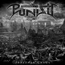 PUNISH - SUBLUNAR CHAOS  CD DEATH METAL/HARDROCK NEU