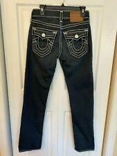 True Religion Jeans Ricky Relaxed Straight Size 28 Flap Pocket Mens