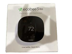 ecobee 3 Lite Smart Thermostat - Black