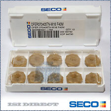 OFER 070405TN M16 F40M SECO *** 10 INSERTS *** FACTORY PACK ***
