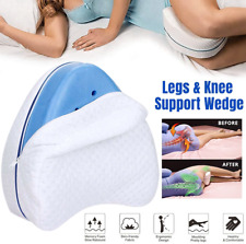 Pregnancy Body Memory Foam Pillow Orthopedic Knee Leg Wedge Pillow Cushion