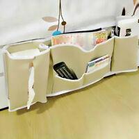 Useful Bedside Bed Pocket Bed Organizer Hanging Bag Phone Holder Storage Bags