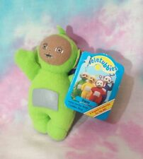 Vintage Teletubbies DIPSY Wrist Rattle Plush 1996 Golden Bear NEW WITH TAGS
