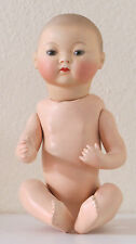 Asiatique   A.M  34 cm  13?6 iNCH  Poupée Ancienne  Reproduction Antique doll