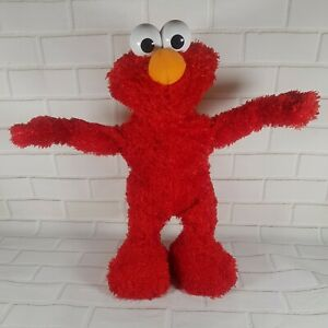 "Sesame Street Elmo Fisher-Price 2007 15"" Talks, Sings, Jokes, Dances Toy L9049"