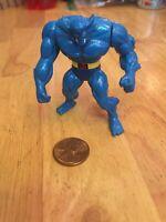 "1995 Marvel X-Men Steel Mutants DieCast Metal 2.5"" Beats Mini Figure Toy Biz"