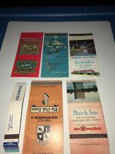 Vintage Matchbook Covers (6) Disney