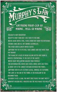 Murphys Law Irish 100% Cotton Tea Towel (sg)