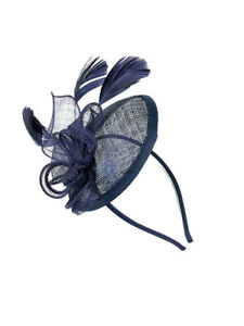 Large Headband Aliceband Hat Fascinator Weddings Ladies Day Race Royal Ascot 23