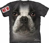The Mountain Adult Unisex Graphic Tee, French Bulldog, Small