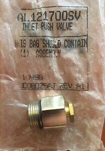 Campbell Hausfeld AL121700SV inlet push valve assembly for paint sprayer