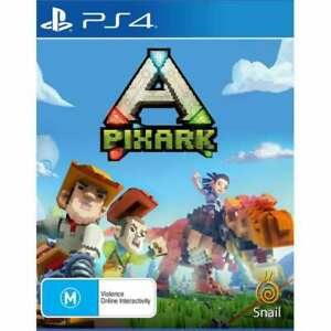 PixARK PS4 Playstation 4 LIKE NEW FREE POST + TRACKING! AU
