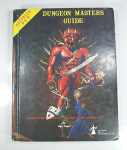 """1979 AD&D """"Dungeon Master's Guide"""" Revised Ed. Gygax Dungeons Dragons TSR"""