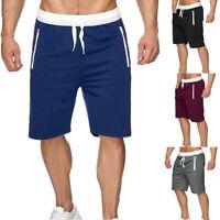 Men Fashion Sweatpants Beach Shorts Loose Gym Comfortable Casual Sports Pants
