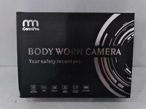 CammPro I826 1296P HD Police Body Camera,32G Memory,Waterproof Body Worn Camera