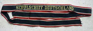 Marine, Handelsmarine Bandeau Schulschiff Allemagne (Art.4282)