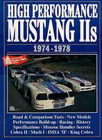 MUSTANG II FORD BOOK COBRA 2 PORTFOLIO BROOKLANDS