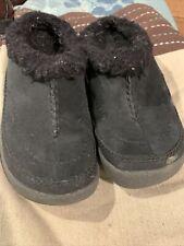 Merrell Kids Size 12 Spirit Tibet Slides Black Slippers
