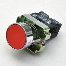 Telemecanique Red sign Momentary Push Button Switch Normally Close Contact Block