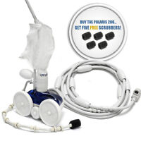F5 Polaris 280 Pressure Side Automatic Pool Cleaner Includes Scrubber Package