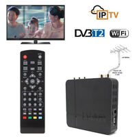 Mini HD DVB-T2 K2 WiFi Terrestrial Receiver Digital TV Box + Remote Control Util