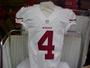 2013 NFL San Francisco 49ers Game Worn/Team Issued Jersey Player #4 Size 42