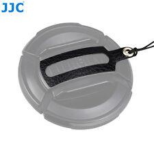 JJC Leather Stickup Lens Cap Keeper String Rope for Fujifilm FLCP-52mm lens Cap