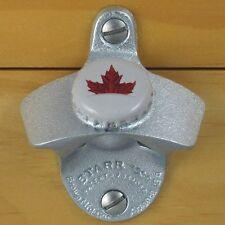 Molson Canadian Bottle Cap Maple Leaf Starr X Wall Mount Bottle Opener Canada