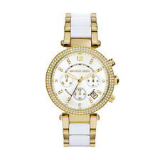 MICHAEL KORS MK6119 PARKER WHITE GOLD WATCH - RRP £229