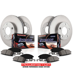 Complete Brake Disc/Rotor & Pad & Sensors kit F & R Mini Cooper Country Paceman