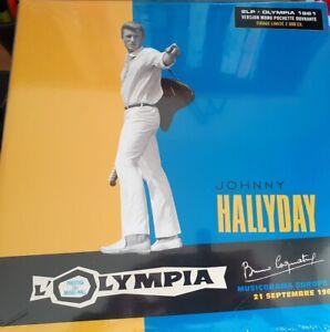 Johnny Hallyday du Coffret Olympia Story 1 Double Vinyle Olympia 1961