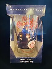 The Breakfast Club Collectable Glassware, 16 Oz, 80's Cult Films, Barware, Movie