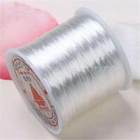 Roll Cord Tape Elastic String 1mm White Length 22m W6N2 1X