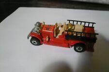 Vintage Hot Wheels Old Number 5 Fire Engine Truck 1980 Hong Kong clean